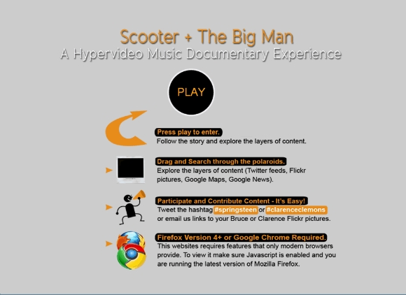 scooter & the big man website
