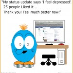 Liked my status update that I'm depressed - wanders through identiland - episode four